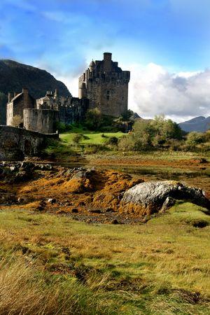 Eileen Donan castle Scotland Stock Photo