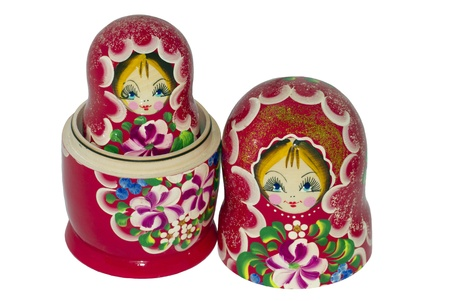 matroshka: matroshka, nested doll, Russia Stock Photo