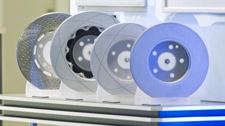 brake disks, car Banco de Imagens - 15774844