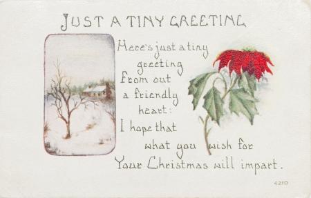 post card: post card, ancient, USA ,1915 year