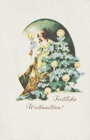 post card: post card, ancient ,German, 1933 year Editorial