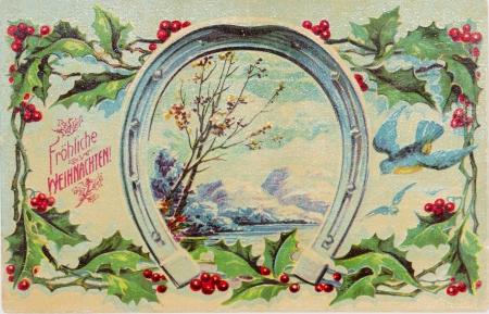 post card: post card, ancient ,German