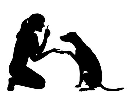 obedience: Formaci�n perro (obediencia): Comando: pata