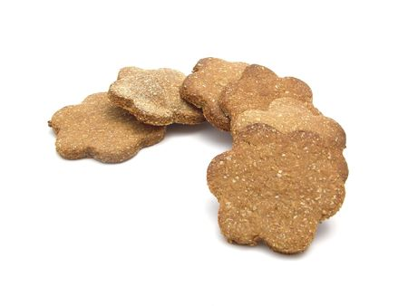 sugary: Sugary dog cookies flower-shaped