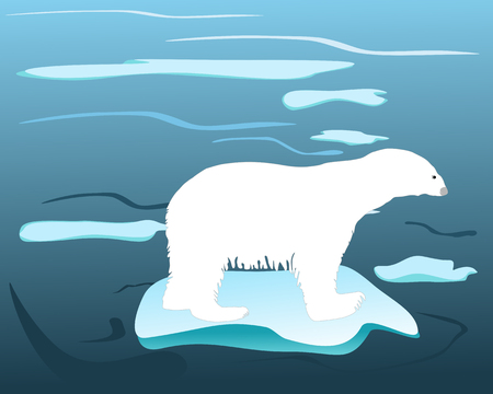 lonesome: Warm times for polar bears Illustration