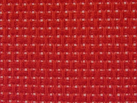 holey: Background textile holey in red