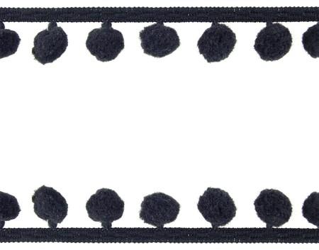 pompon: Background pompon braid