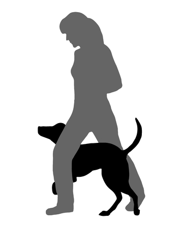 obey: Dog agility (obedience): Command: Run through Illustration