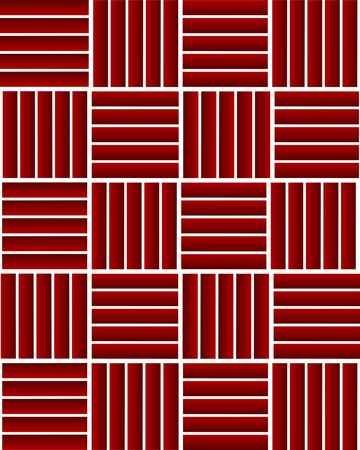 transverse: Red longitudinal and transverse stripes