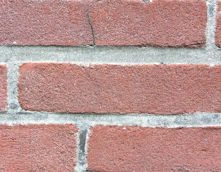 clinker: Background out of red clinker brick and cement