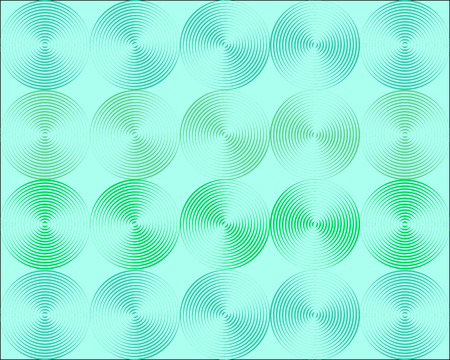 Metallic shimmering background picture out of many colored circle lines Stock Vector - 5271274