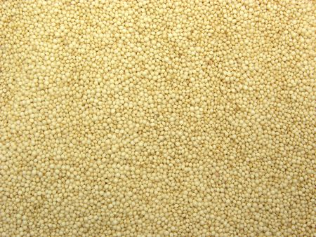 wholemeal: Background picture as close-up view on amaranth seeds Stock Photo