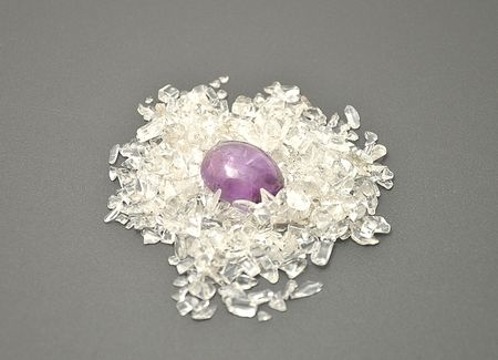 Detailed and colorful image of amethyst mineral Stock Photo - 6198871