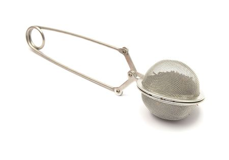 Detailed but simple image of mesh tea ball infuser photo