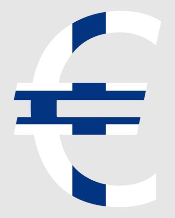 valuta: Finnish Euro Illustration