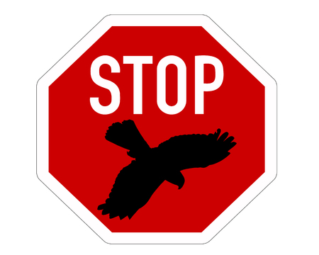 swoop: Abate de la se�al de Stop para aves