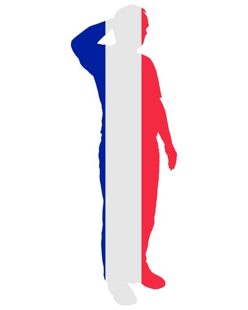 salute: French Salute Illustration