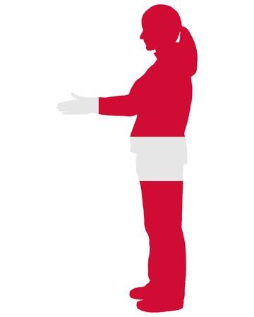 danish: Danish handshake