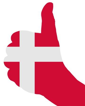 Danish finger signal Stock Photo - 7331170