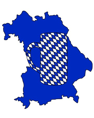 stein: Bavarian stein Illustration