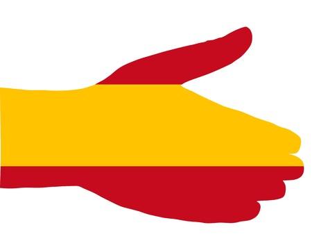 Spanish handshake