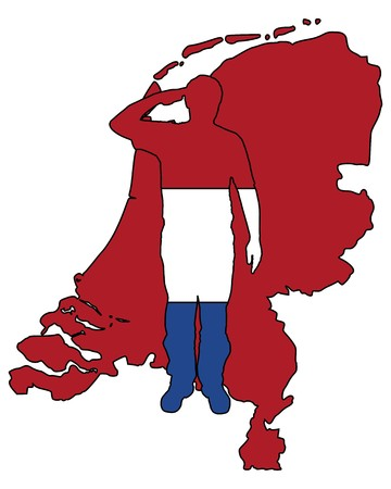 салют: Dutch Salute Иллюстрация