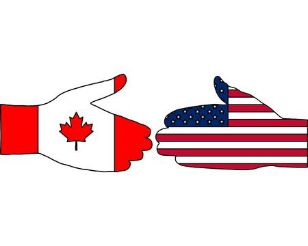International handshake Stock Vector - 7508256