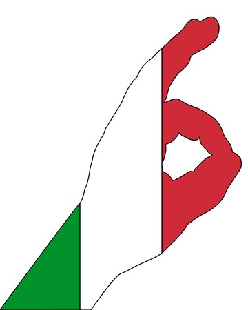 Italian finger signals Stock Vector - 7508226