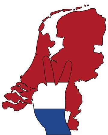 Dutch finger signal Stock Photo - 7632286