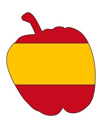 Spanish Pepper Stock Vector - 7740892