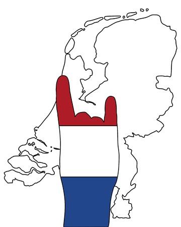 Dutch finger signal
