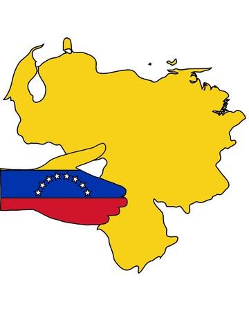 Welcome to Venezuela  Ilustração