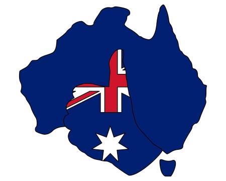 Australien hand signal photo