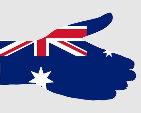 Australian handshake photo