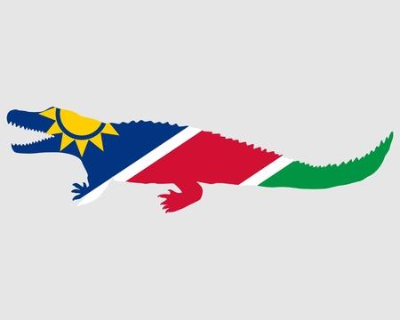 nile: Nile crocodile Namibia Stock Photo