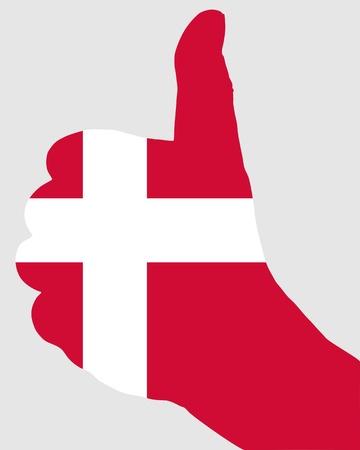 danish: Danish finger signal