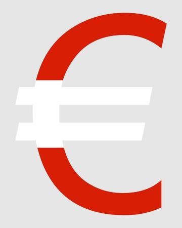 austrian: Austrian Euro Illustration