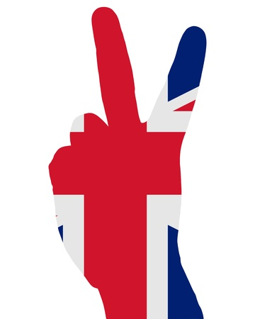 British finger signal Vector