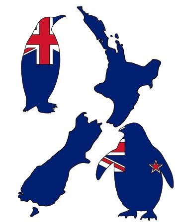 flightless: Penguin New Zealand