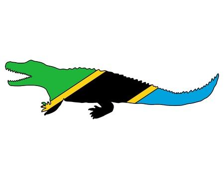 nile: Nile crocodile Tanzania