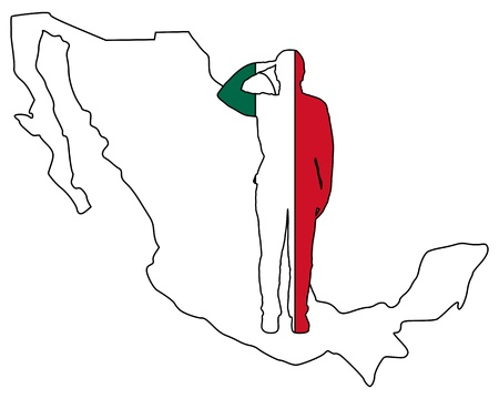 салют: Mexican salute