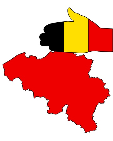 Welcome to Belgium Ilustração