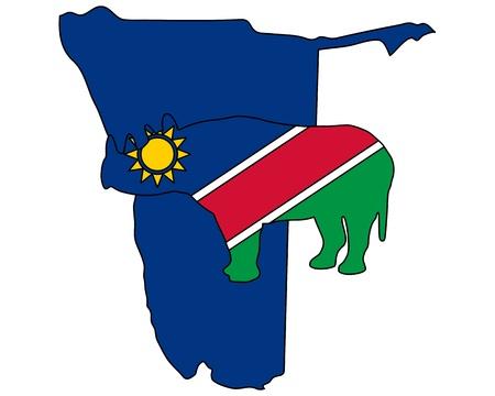 namibia: Namibia black rhino