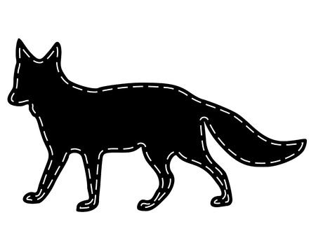 Fox fur Vector