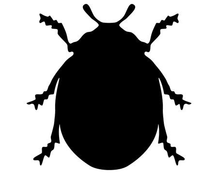 beneficial: Ladybird silhouette