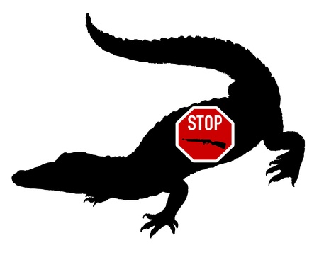 sparare: Smettere di sparare coccodrillo