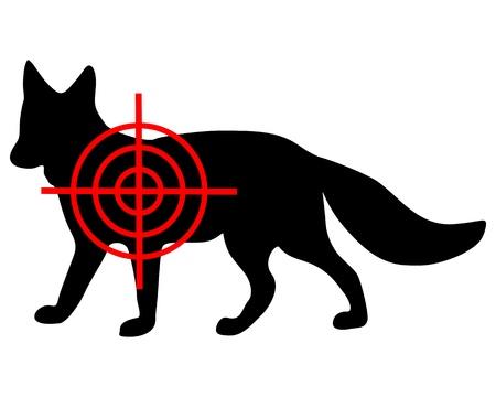 Fox crosshair Vector