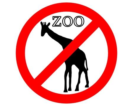 giraffa: Jirafa en zool�gico prohibido