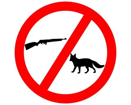 Do not shoot fox Vector