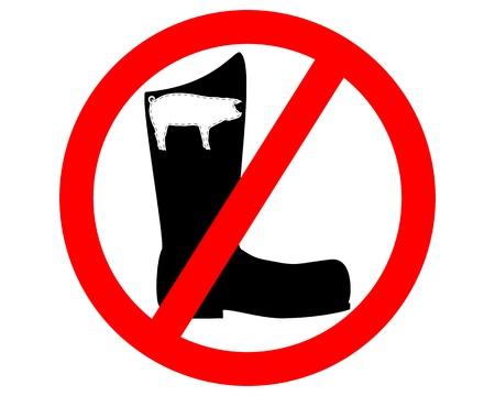 No pigskin boots  Stock Vector - 9409692